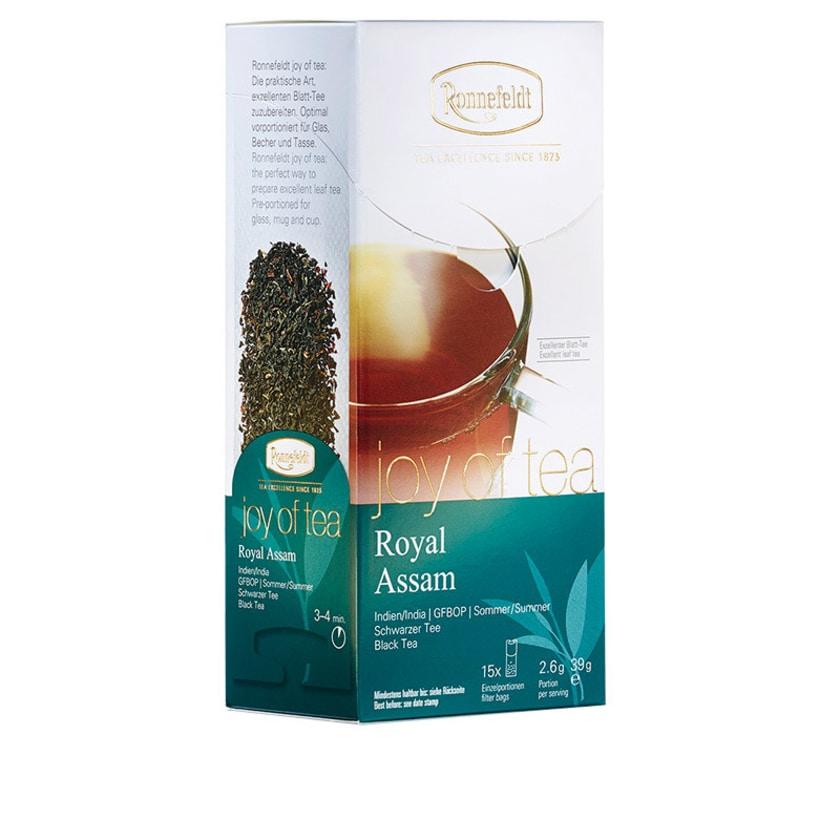 Ronnefeldt Tee Joy of Tea Royal Assam schwarzer Tee 15 Teebeutel (Caddy) 39g