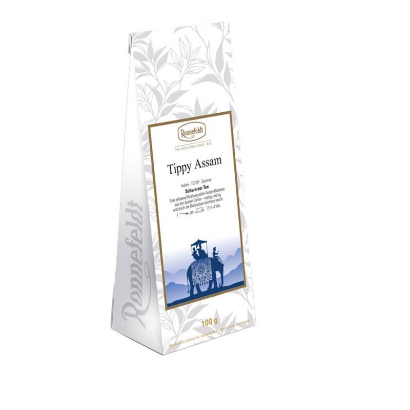 Ronnefeldt Tee Tippy Assam schwarzer Tee aus Indien 100g