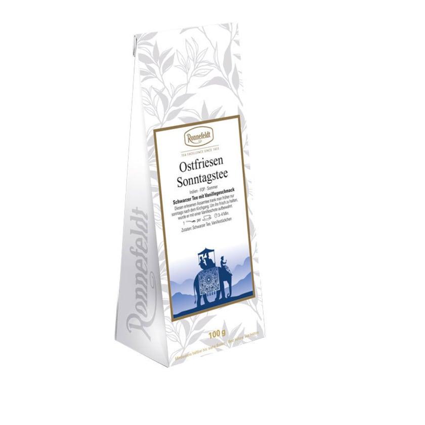 Ronnefeldt Tee Ostfriesen Sonntagstee schwarzer Tee 100g