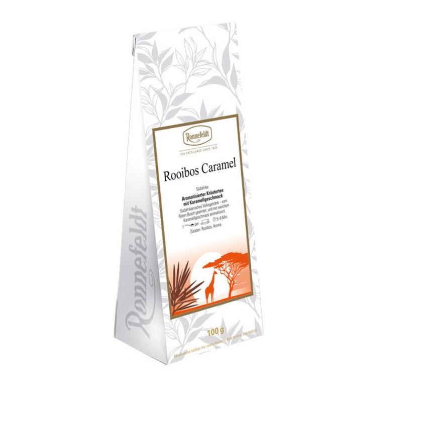 Ronnefeldt Tee Rooibos Caramel aromatisierter Kräutertee 100g