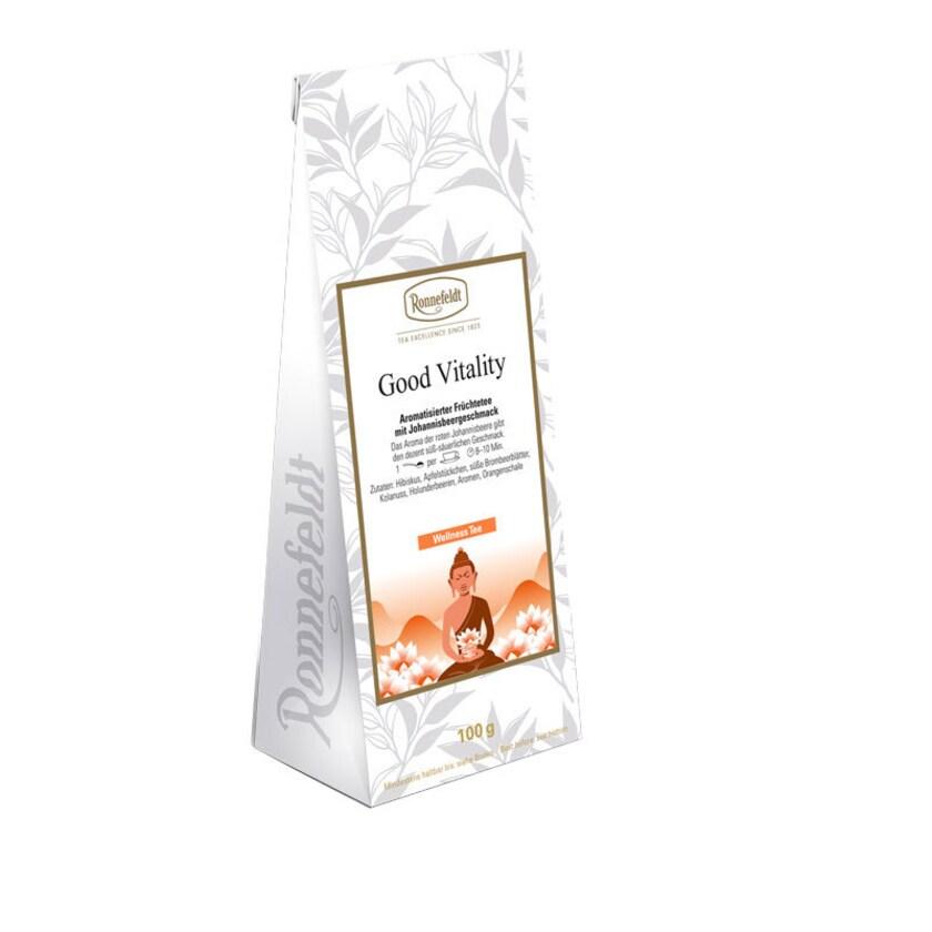 Ronnefeldt Tee Good Vitality aromatisierter Früchtetee Johannisbeere 100g