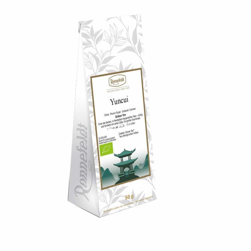 Ronnefeldt Tee Yuncui Bio grüner Tee aus China 50g