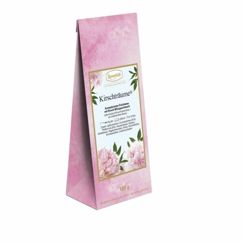 Ronnefeldt Tee Kirschträume aromat. erfrischender Früchtetee 100g