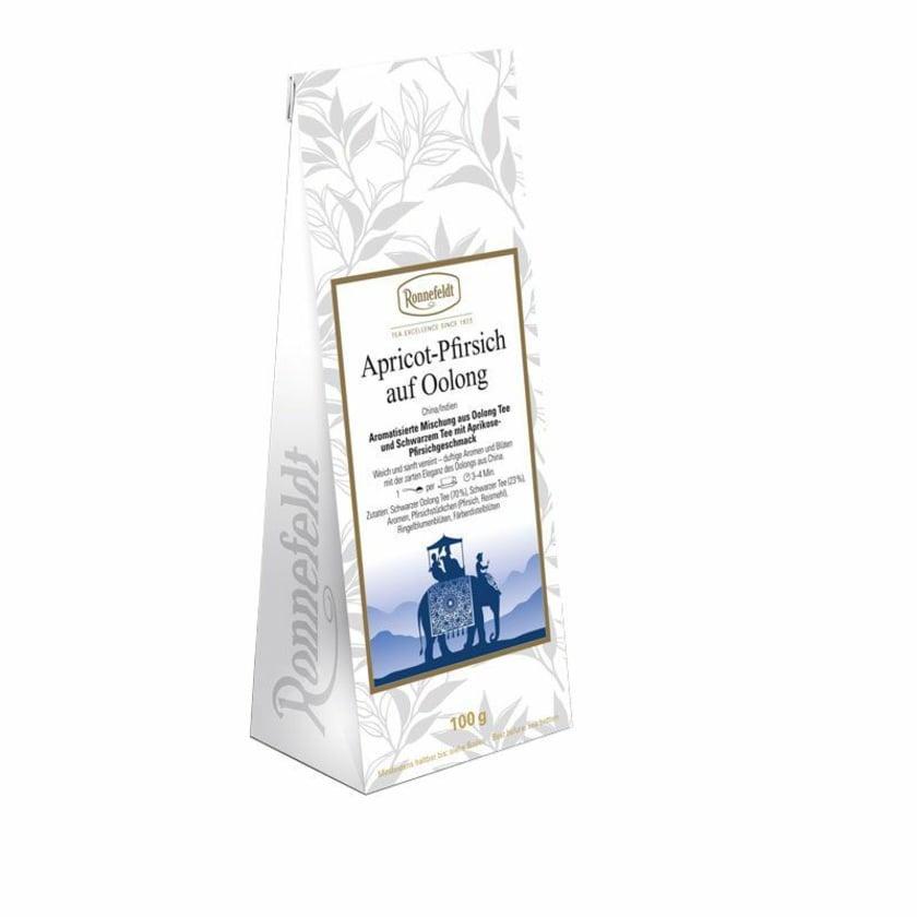 Ronnefeldt Tee Apricot-Pfirsich auf Oolong aromatisierter Oolong 100g