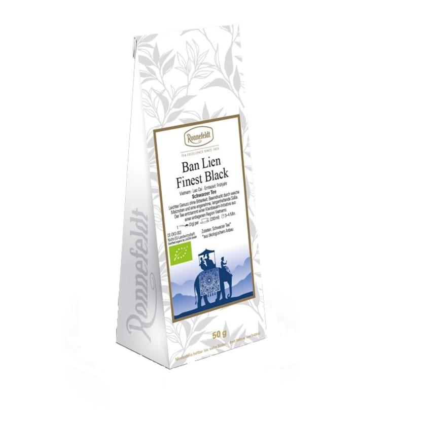 Ronnefeldt Tee Ban Lien Finest Black Bio schwarzer Tee aus Vietnam 50g
