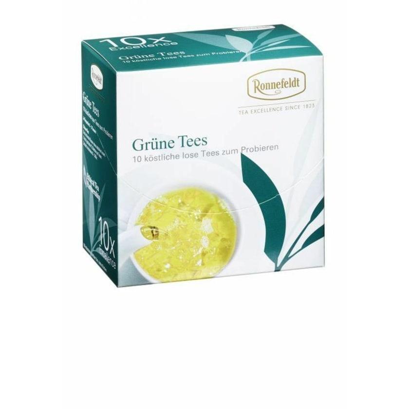 Ronnefeldt Tee Probierbox Grüne Tees 10x3,9g 39g