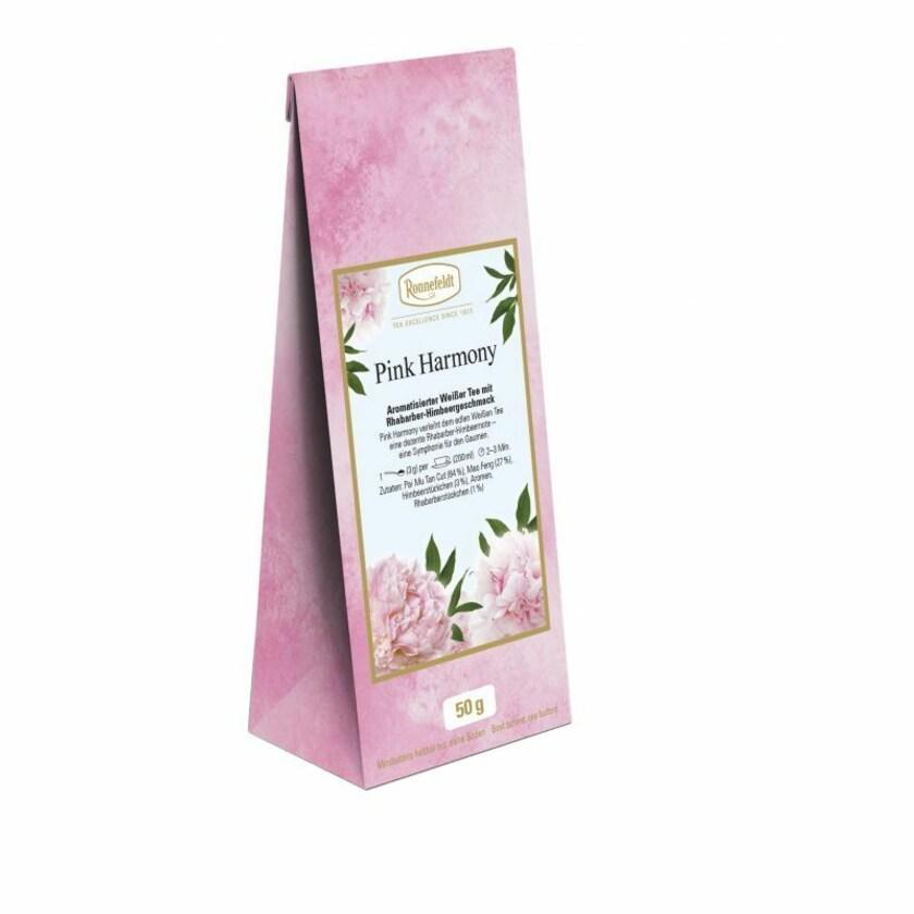 Ronnefeldt Tee Pink Harmony aromat. weißer Tee 50g