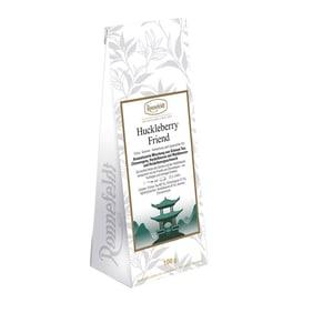 Ronnefeldt Tee Huckleberry Friend aromatisierter grüner Tee mit Heidelbeeren 100g
