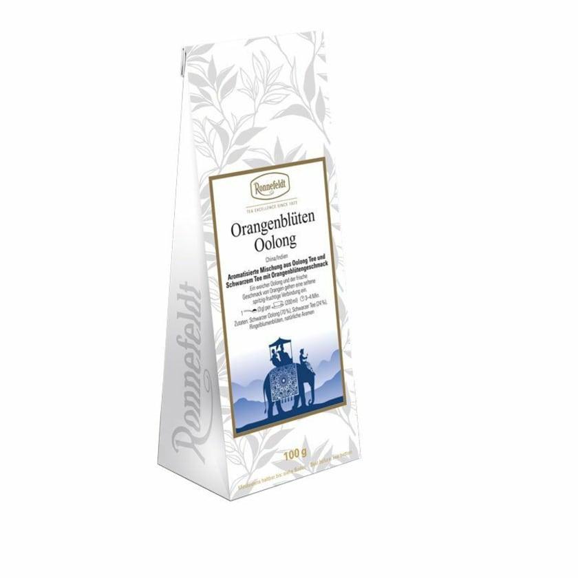 Ronnefeldt Tee Orangenblüten Oolong aromatisierter Oolong 100g