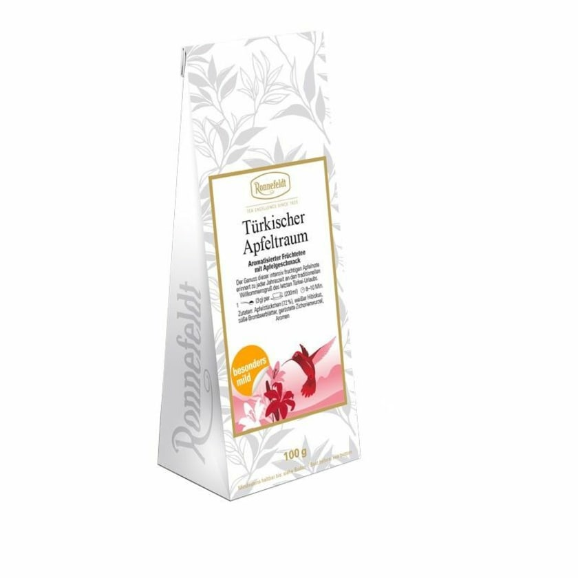 Ronnefeldt Tee Türkischer Apfeltraum aromatisierter Früchtetee 100g