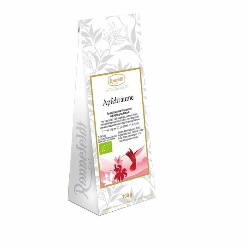 Ronnefeldt Tee Apfelträume Bio aromatisierter Früchtetee 100g