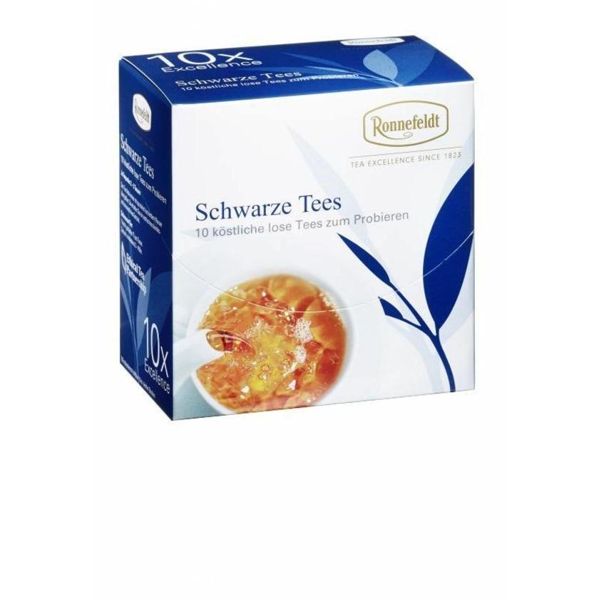 Ronnefeldt Tee Probierbox Schwarze Tees 10x3,9g