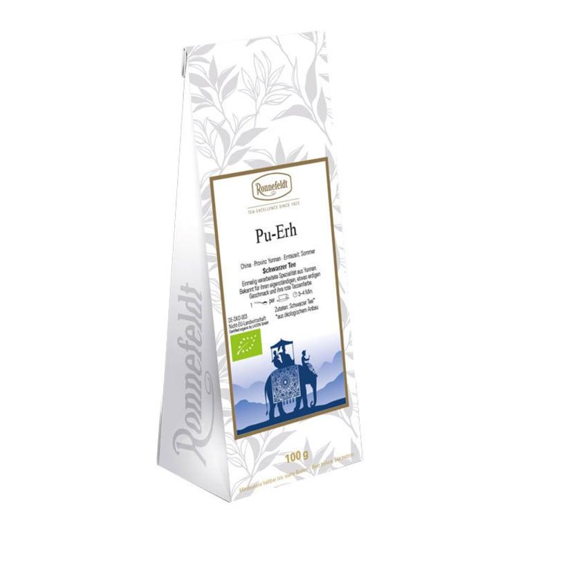 Ronnefeldt Tee China Pu-Erh Bio schwarzer Tee aus China 100g
