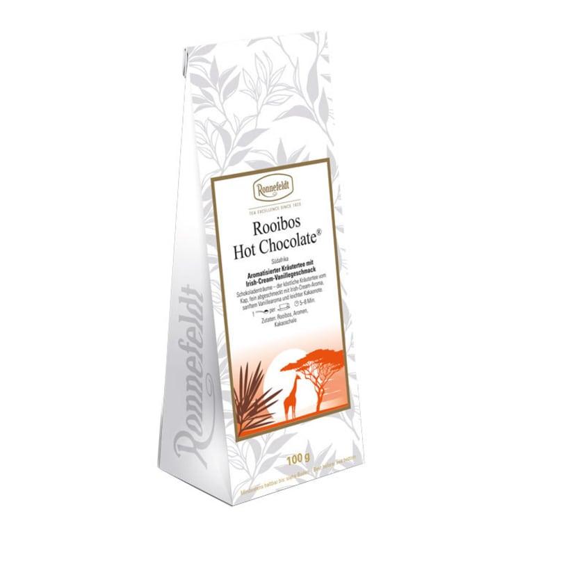 Ronnefeldt Tee Rooibos Hot Chocolate aromatisierter Kräutertee 100g