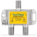 TechniSat 2-Wege Sat-Verteiler/Combiner 2xDC diodenentkoppelt