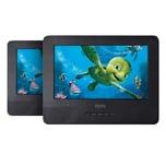 Odys Seal 7 Portabler TWIN DVD Player mit 2. Monitor