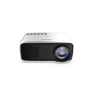 "Philips NeoPix Start Mini-Projektor / Beamer (HDMI, USB, MicroSD, bis zu 60"" - 150 cm)"