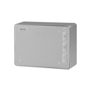 Imperial BAS 2 Bluetooth Lautsprecher mattweiß-silber