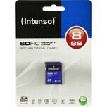 Intenso SDHC Memory Card 8 GB, blau (Secure Digital Card)