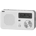 Imperial Dabman 13 DAB+ Radio weiß-silber