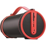 Imperial Beatsman Mobiler 2.1 Bluetooth Lautsprecher mit UKW Radio rot