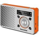 TechniSat DIGITRADIO 1 DAB+ Radio silber/orange