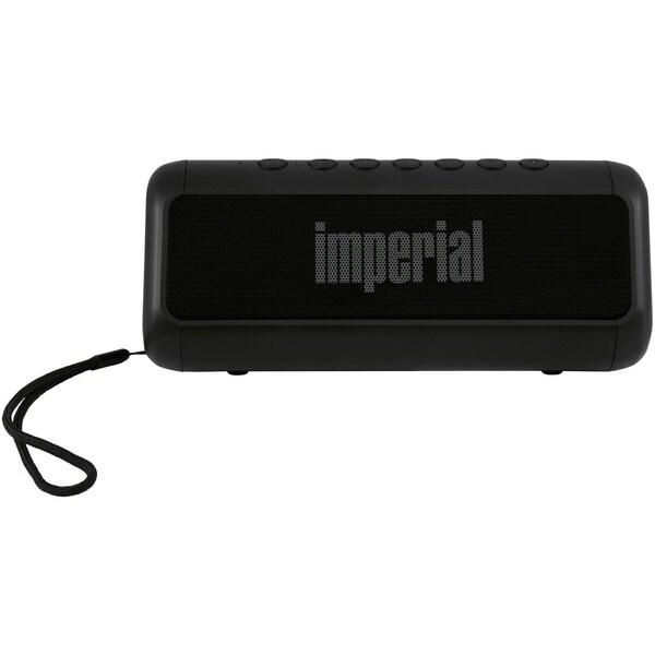 Imperial BAS 6 Bluetooth Stereo-Lautsprecher mit Solarlade- und Powerbankfunktion