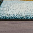 Paco Home Kurzflor Wohnzimmer Teppich Bunt Karo Design Vierecke Mehrfarbig Farbenfroh