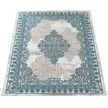 Paco Home Wohnzimmer-Teppich, Kurzflor-Teppich Mit Orient-Muster, 3D-Look In Türkis