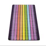 Paco Home Badematte, Kurzflor-Teppich Für Badezimmer Mit Streifen-Muster, 3-D-Effekt In Bunt