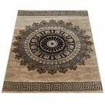 Paco Home Designer Teppich Kurzflor Wohnzimmer Meliert Geometrische Formen Muster In Braun