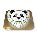 Panda-Torte Schokoladenkuchen mit Schokoladenbuttercremefüllung 10 Portionen