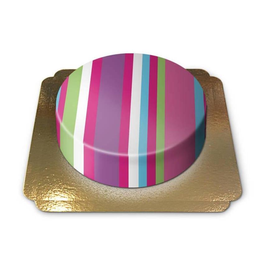 Geschenktorte Schokoladenkuchen mit Schokoladenbuttercremefüllung 6 Portionen