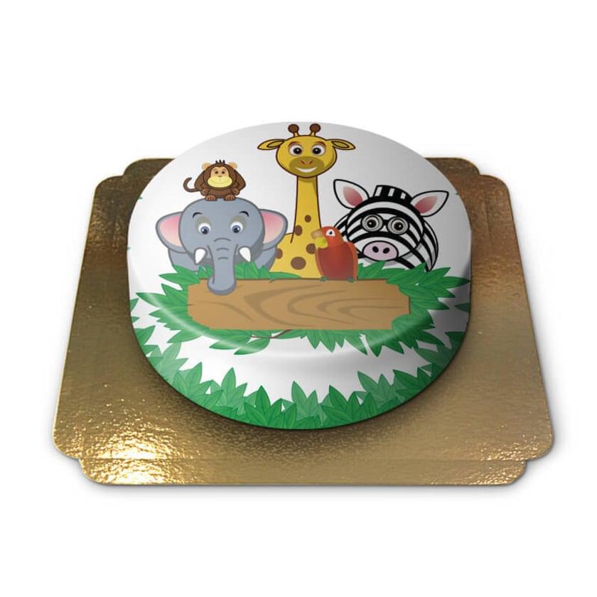 Tier-Torte Schokoladenkuchen mit Schokoladenbuttercremefüllung 6 Portionen