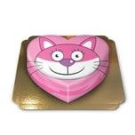 Katzen-Torte Schokoladenkuchen mit Schokoladenbuttercremefüllung 10 Portionen