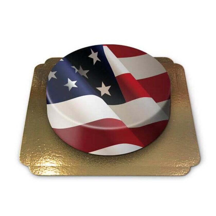 Amerika-Torte Schokoladenkuchen mit Schokoladenbuttercremefüllung 6 Portionen