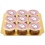 9 Rosa Pummeleinhorn Cupcakes Schokolade 9 Stück