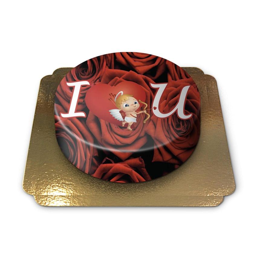 Liebestorte Schokoladenkuchen mit Schokoladenbuttercremefüllung 6 Portionen