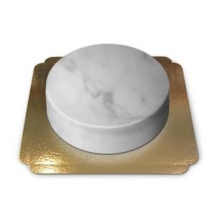 Marmormuster-Torte Schokoladenkuchen mit Schokoladenbuttercremefüllung 10 Portionen