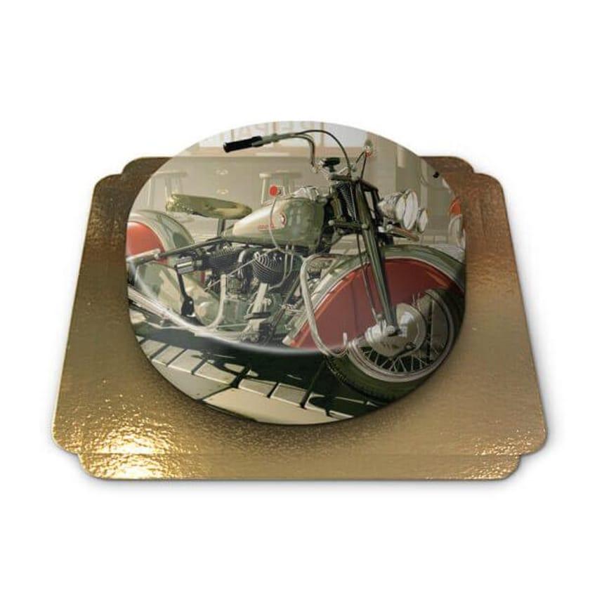 Motorrad Torte Schokoladenkuchen mit Schokoladenbuttercremefüllung 6 Portionen