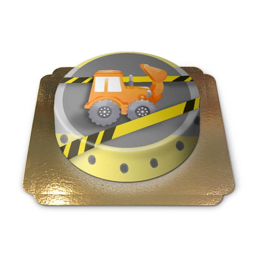Bagger-Torte Schokoladenkuchen mit Schokoladenbuttercremefüllung 6 Portionen