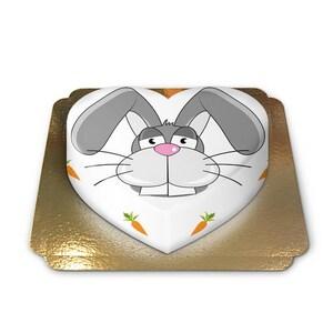 Kaninchen-Hasen-Torte Schokoladenkuchen mit Schokoladenbuttercremefüllung 10 Portionen