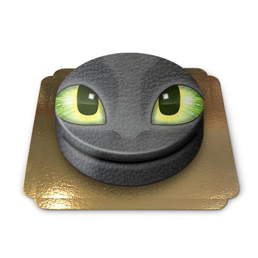 Drachen-Torte Schokoladenkuchen mit Schokoladenbuttercremefüllung 6 Portionen