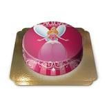 Prinzessinnentorte Schokoladenkuchen mit Schokoladenbuttercremefüllung 6 Portionen