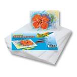 Folia 2350 Encaustic-Malkarten, DIN A5, weiß (100 Bogen)