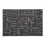 Zeller Present 27005 Scribble Tischset PVC Cut Out Muster 30 x 45 cm schwarz 1 Stück