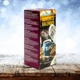 Corasol Premium Tee-Adventskalender 2020 mit 24 weihnachtlichen Gourmet-Teesorten im Pyramiden-Beutel (68,4 g)