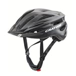 CRATONI 113001C2 Pacer Fahrradhelm Gr. S/M (54-58cm), schwarz/matt