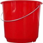 Lockweiler 101-020542 Haushaltseimer 5 Liter rot
