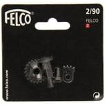FELCO 2/90 Gartenschere Reparaturset für Nr. 2, rot, 4-teilig (1 Set Blisterkarte)